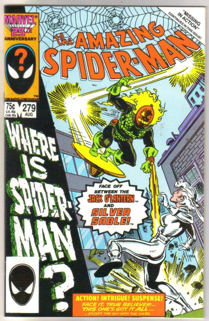 The Amazing Spider-man #279 near mint 9.4