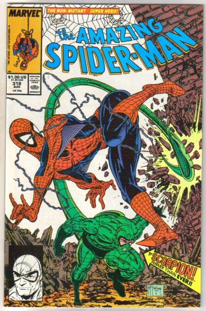 The Amazing Spider-man #318 comic book near mint 9.4