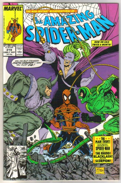 The Amazing Spider-man #319 comic book mint 9.8