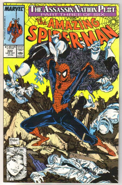 The Amazing Spider-man #322 comic book mint 9.8