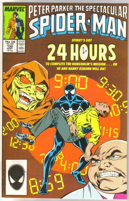 Peter Parker, the Spectacular Soider-man #130 comic book near mint 9.4