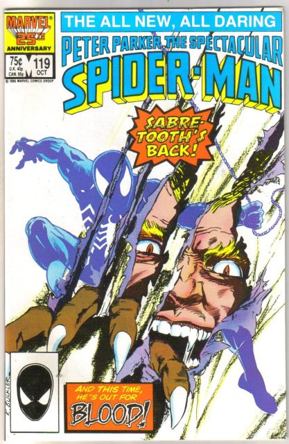Peter Parker, the Spectacular Soider-man #119 comic book mint 9.8