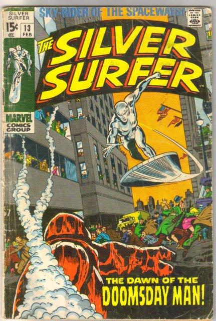 Silver Surfer #13 comic book good 2.0
