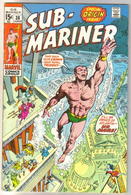 Sub-Mariner #38 comic book fine 6.0