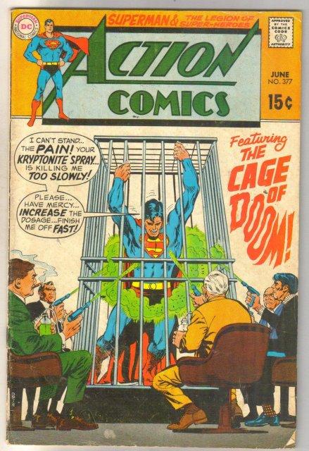 Action Comics #277 comic book very good 4.0