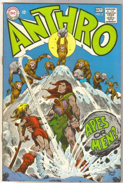 Anthro #2 comic book fine 6.0