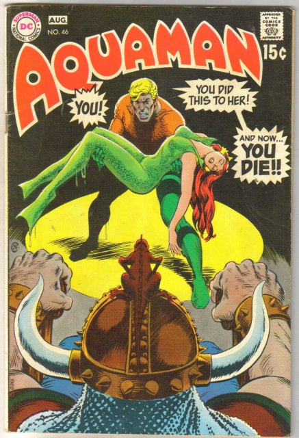 Aquaman #46 comic book very good 4.0