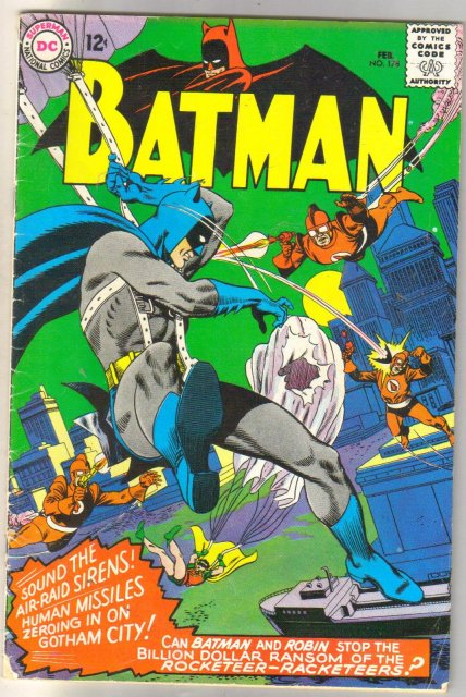 Batman #178 comic book very good 4.0