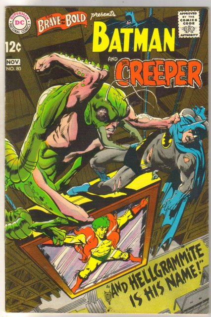 The Brave and the Bold presents Batman and the Creeper #80  comic book very fine 8.0