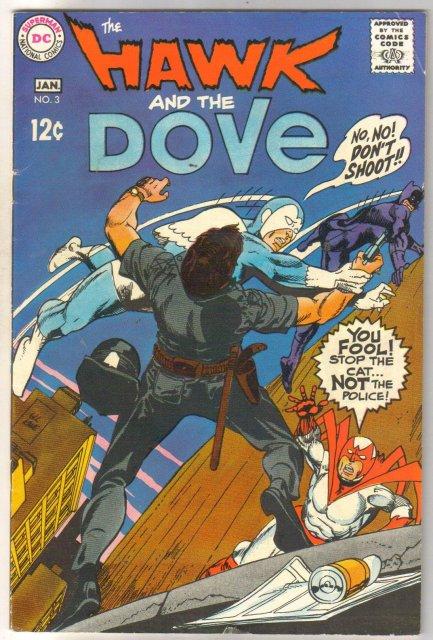 The Hawk and the Dove #3 comic book fine 6.0