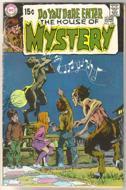 The House of Mystery #186 comic book good/very good 3.0