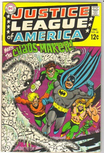 Justice League of America #68 comic book very fine 8.0
