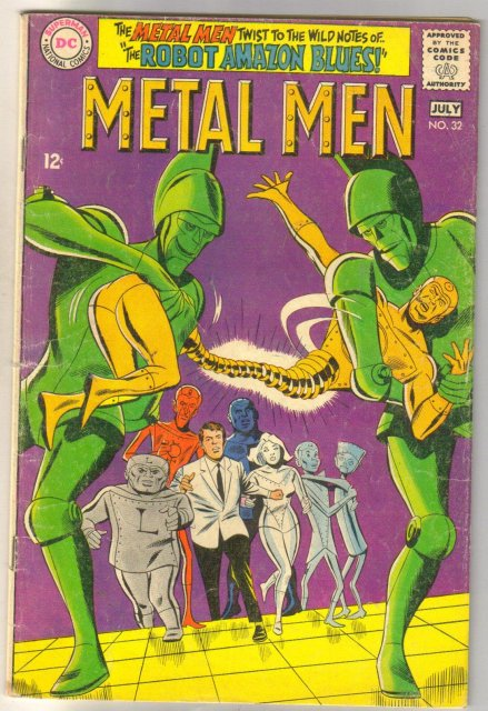 Metal Men #32 comic book very good 4.0