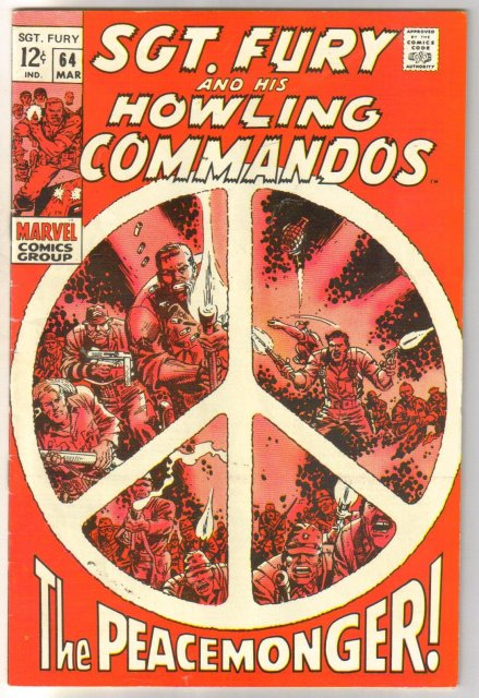 Sgt. Fury and his Howling Commandos #64 comic book fine/very fine 7.0