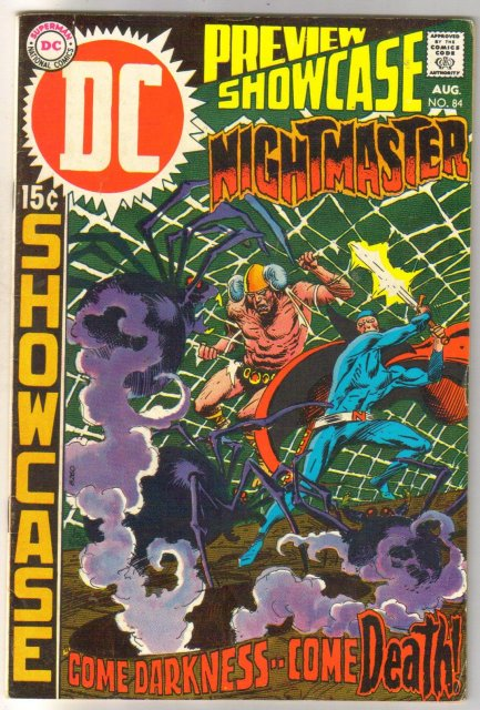 Showcase #84 Nightmaster comic book fine 6.0