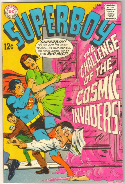 Superboy #153 comic book fine/very fine 7.0
