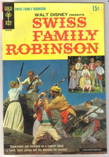 Walt Disney Presents Swiss Family Robinson comic book fine 6.0