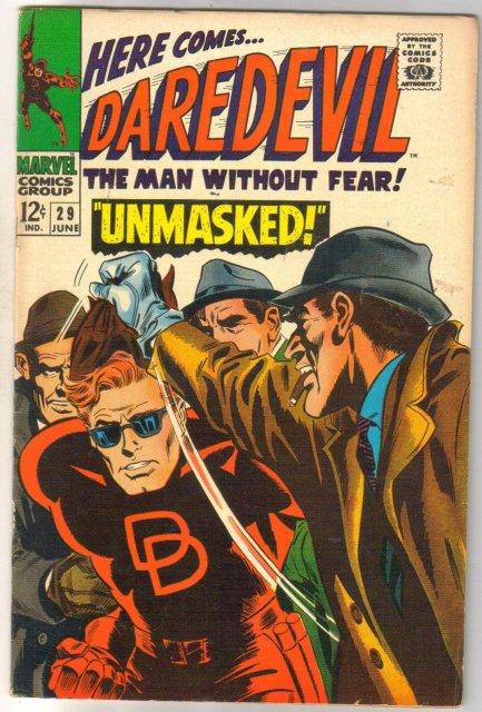 Daredevil #29 comic book fine 6.0
