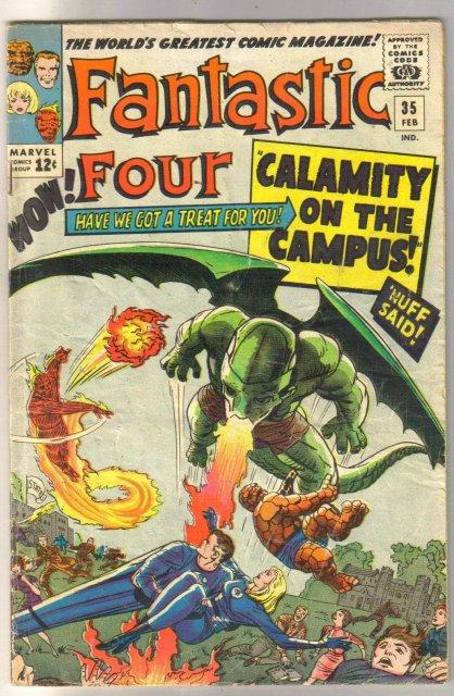 Fantastic Four #35  comic book very good 4.0