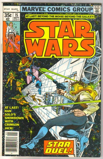 Star Wars #15 comic book very fine 8.0