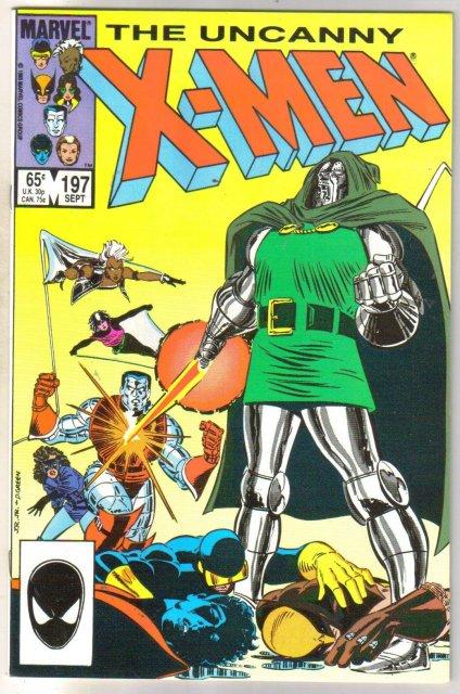 The Uncanny X-men #197 comic book mint 9.8