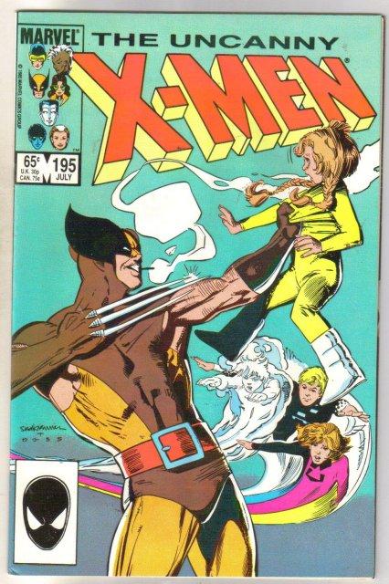 The Uncanny X-men #195 comic book mint 9.8