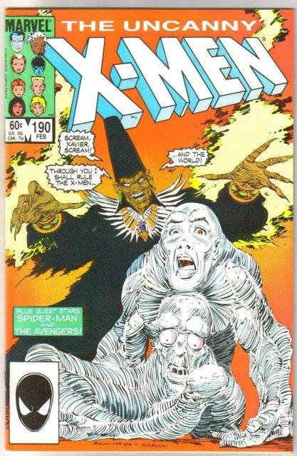 The Uncanny X-men #190 comic book mint 9.8