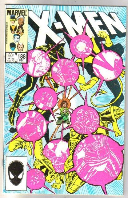 The Uncanny X-men #188 comic book mint 9.8