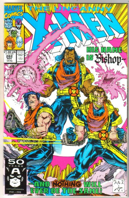 The Uncanny X-men #282 comic book near mint 9.4