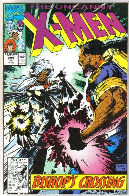 The Uncanny X-men #283 comic book mint 9.8