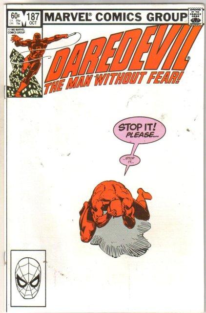 Daredevil #187  comic book near mint 9.4