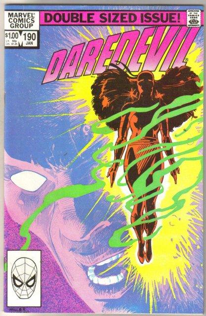 Daredevil #190  comic book near mint 9.4