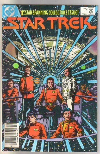 Star Trek (1984) #1  comic book very fine/near minmt 9.0