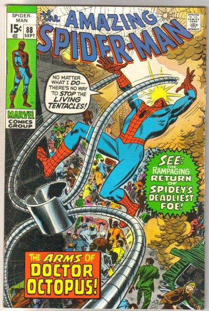 The Amazing Spider-man #88 comic book fine 6.0