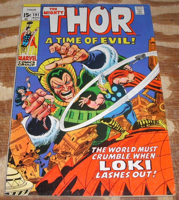 The Mighty Thor #191 fine/very fine 7.0