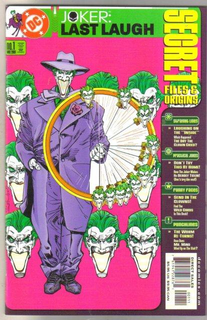 Joker: Last Laugh Secret Files and Origins #1  comic book mint 9.8