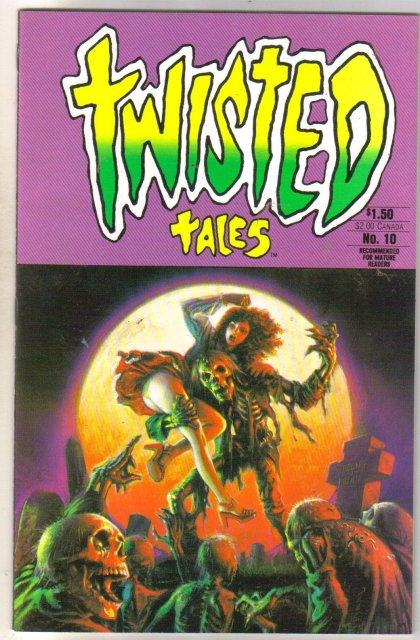 Twisted Tales #10 comic book near mint 9.4