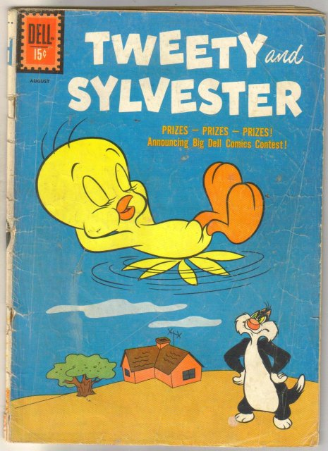 Tweety and Sylvester #33 comic book good 2.0