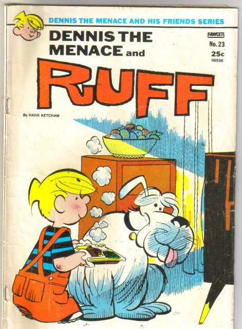 Dennis the Menace and Ruff #23 comic book very good 4.0