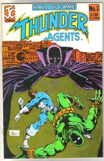 Hall of Fame Thunder Agents #3  comic book near mint 9.4