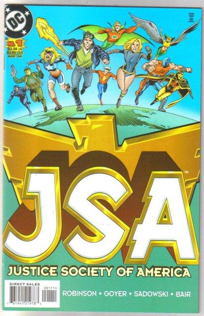 JSA   Justice Society of America #1 comic book mint 9.8