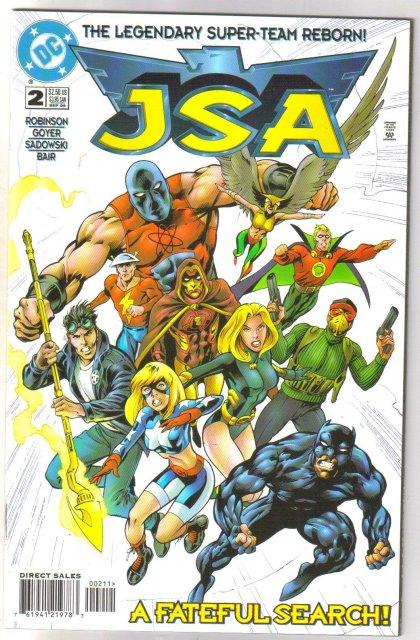 JSA   Justice Society of America #2 comic book mint 9.8