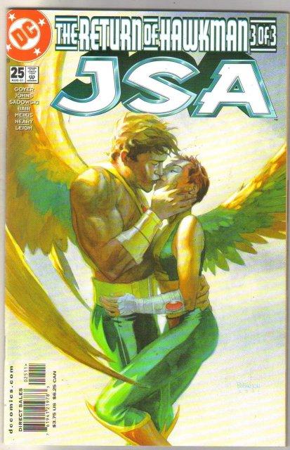 JSA   Justice Society of America #25 comic book mint 9.8