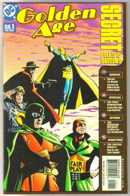 Golden Age Secret Files & Origins #1 comic book mint 9.8