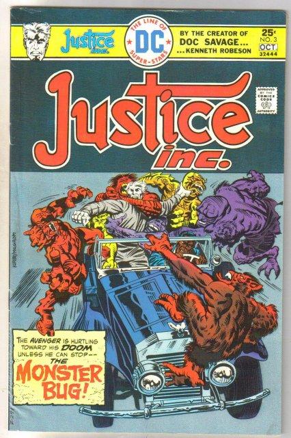 Justice Inc. #3 comic book fine/very fine 7.0