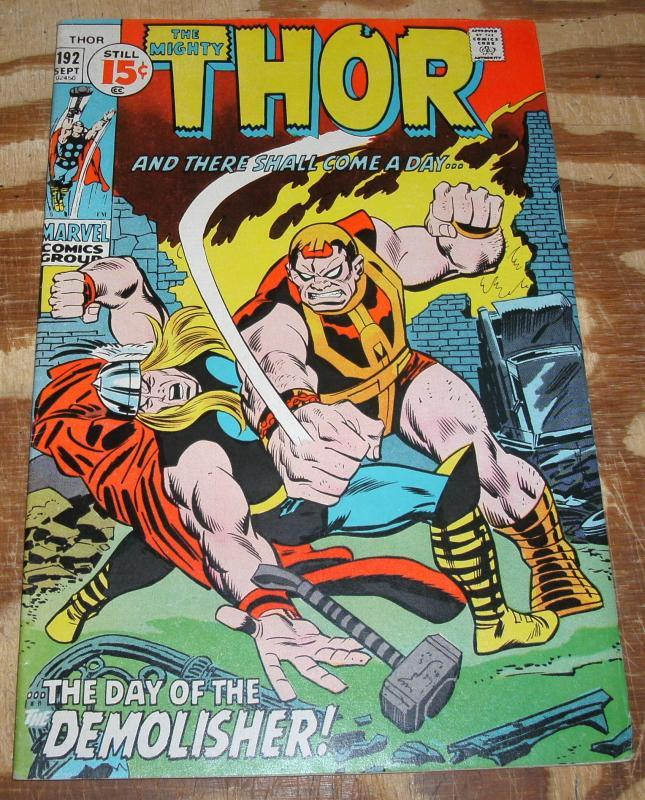 Thor #192 nm 9.4