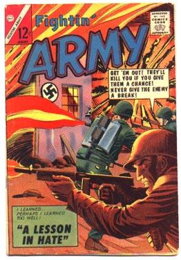 Fightin Army #61 comic book very good/fine 5.0