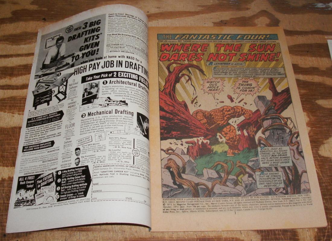 Fantastic Four #127 vf 8.0