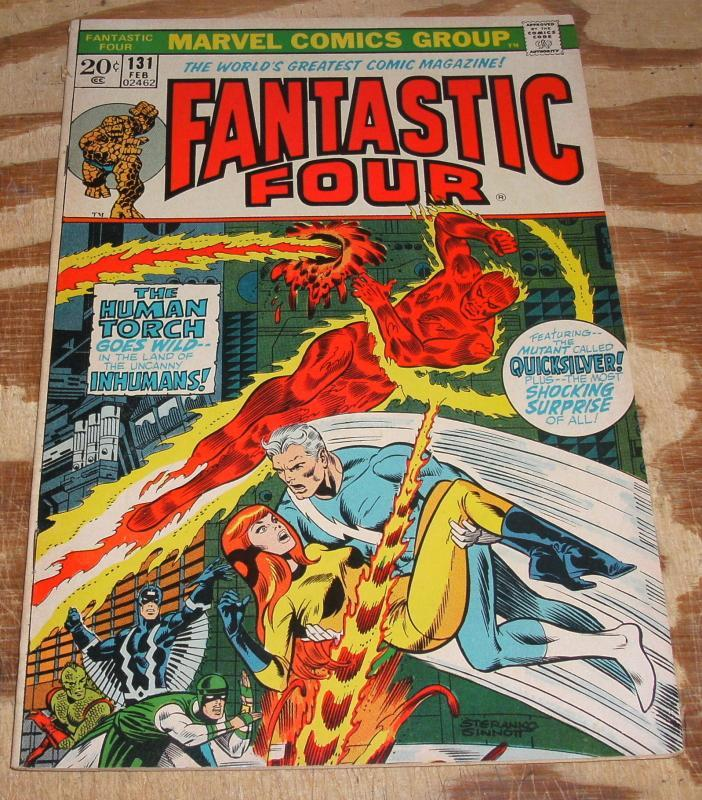 Fantastic Four #131 comic book fine/very fine 7.0
