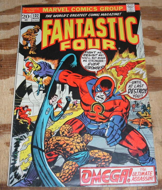 Fantastic Four #132  fine/very fine 7.0